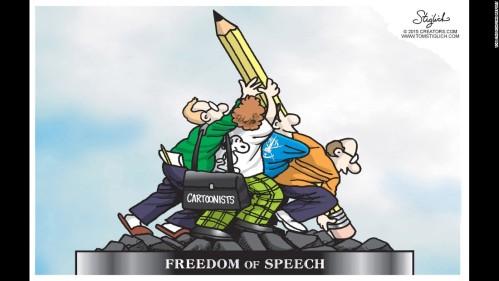 Freedom Of Soeech_Cartoonists