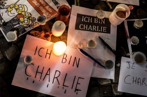 Germany-In Memory of Charlie Hebdo