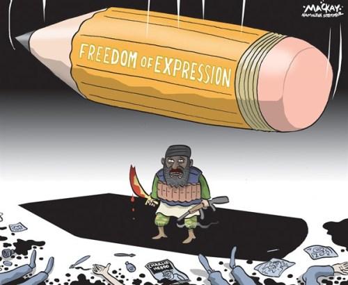 Graeme Mackay In Memory of Charlie Hebdo
