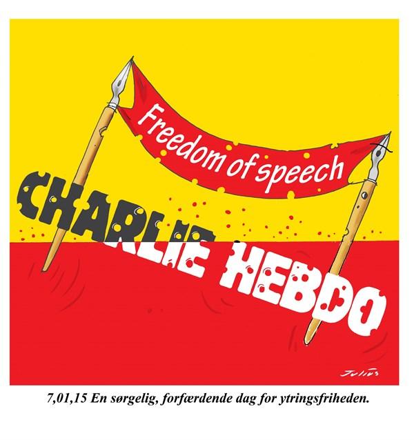 In Memory of Charlie Hebdo