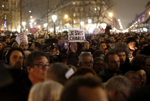 Je Suis Charlie _ Paris France