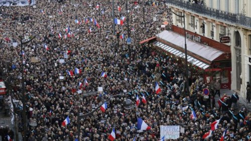 Millions March Paris Rally