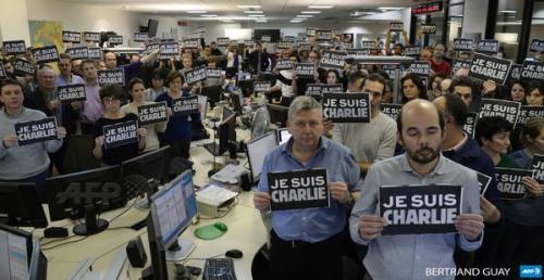 Paris News Room