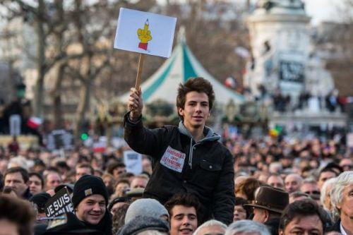 Paris Teen at Rally