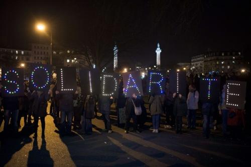 Solidarity_Paris Rally_Night