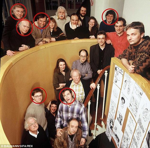 Staff & Victims at Charlie Hebdo