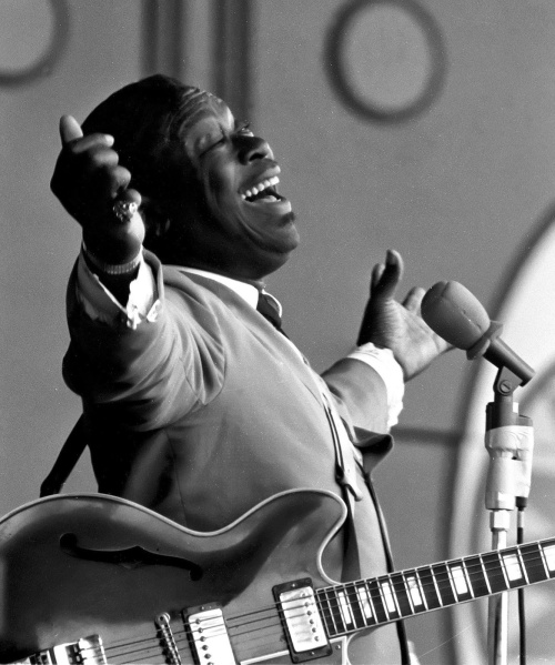 BB King Monterey Jazz Fest 67'