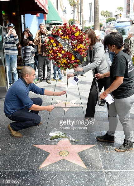 bb king walk of fame in memory