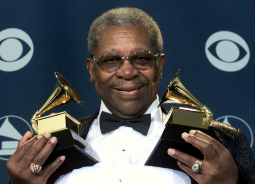 BB King with Grammy's