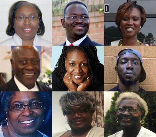 Charleston Church Shooting Victims