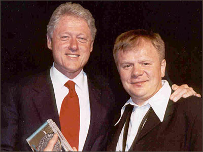 Igor Butman and President Bill Clinton