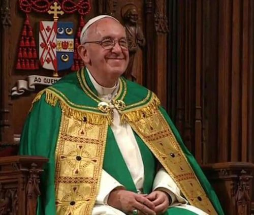 Pope Francis' Homily at St. Patrick's Cathedral