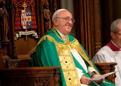 Pope Francis_Madison Square Garden Mass