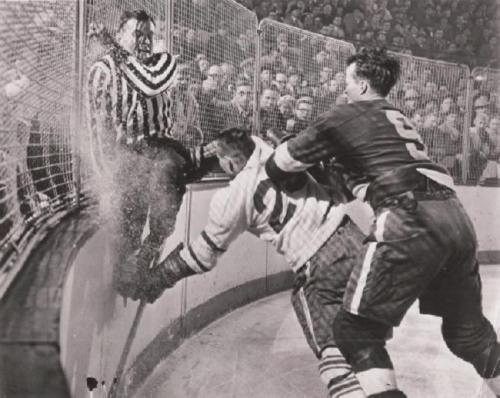 Number 9 Mr. Hockey