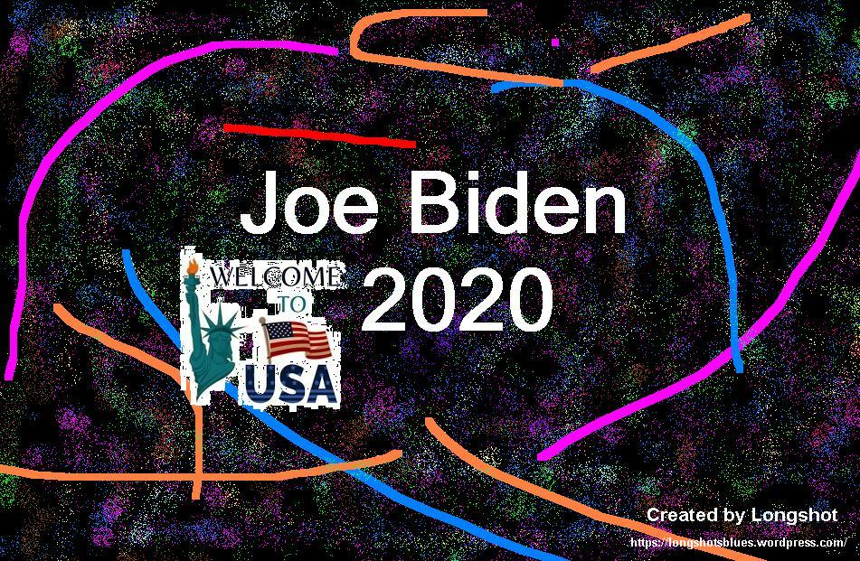 Joe Biden 2020 created by Longshot